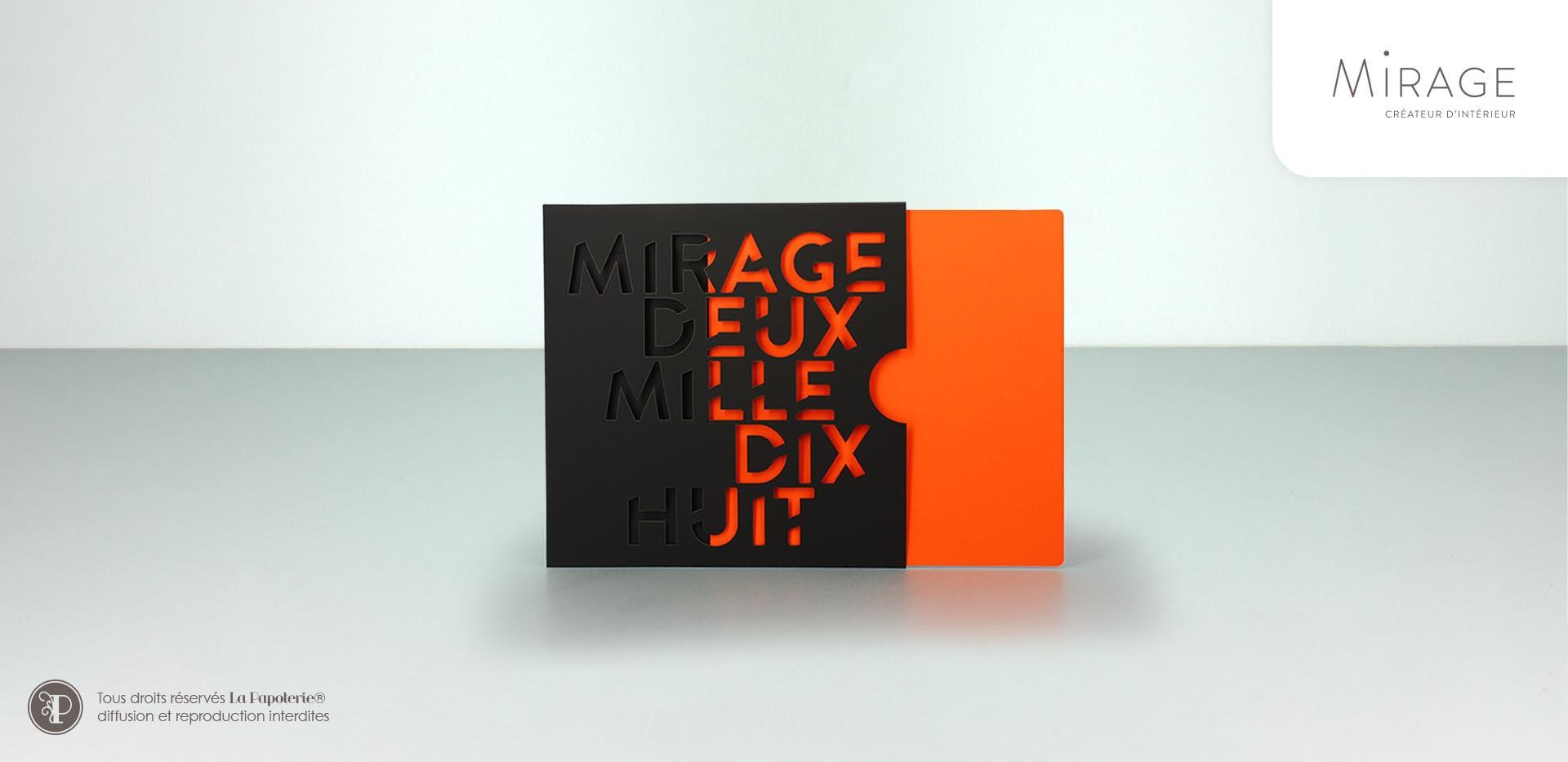 La Papoterie 0015_mirage-voeux Etui carte de voeux Mirage