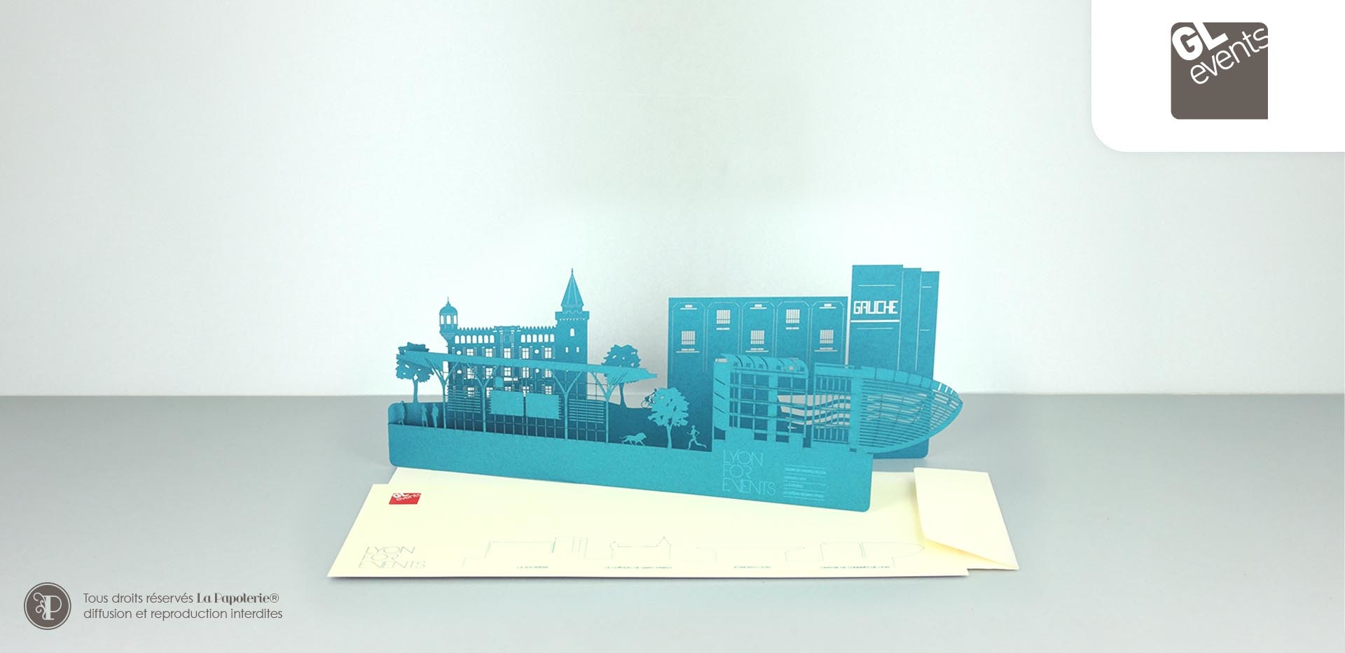 La Papoterie gl-event-panorama Laser cut skyline for GL Events