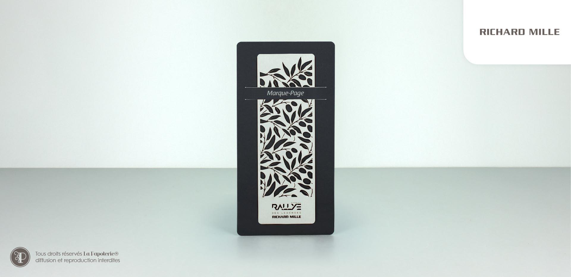 La Papoterie richard-mille-marque-page Richard Mille XL bookmark