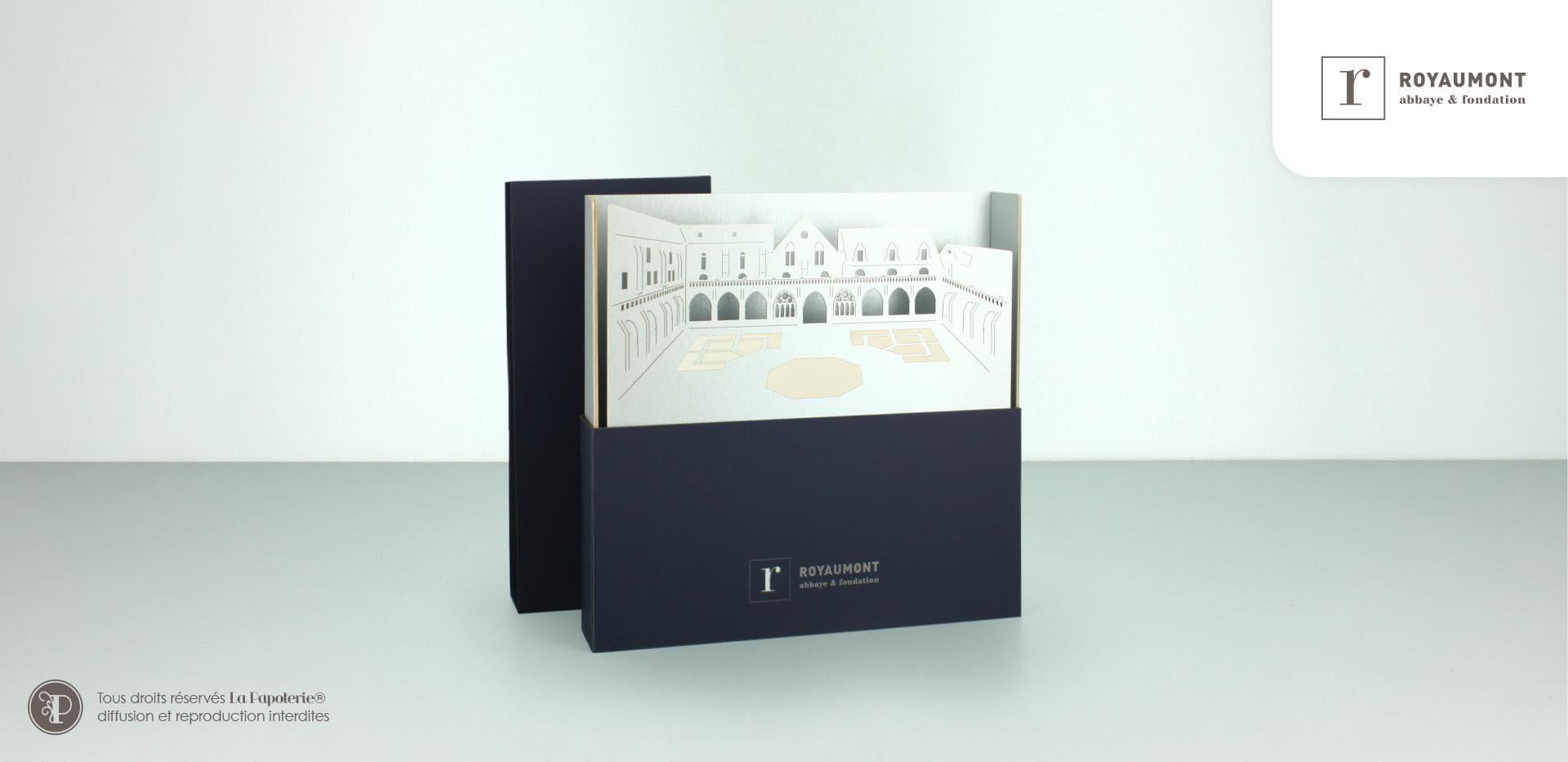 La Papoterie royaumont-coffret-1 Anniversary gift box event Abbaye de Royaumont