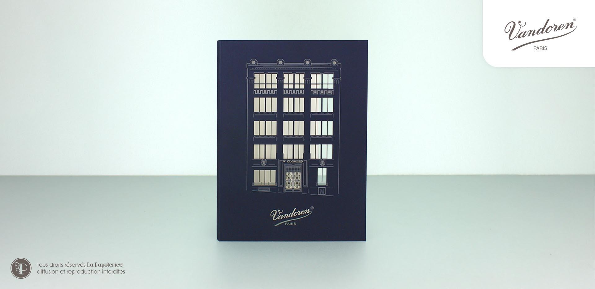 La Papoterie vandoren-a5 A5 architetural notebook Vandoren