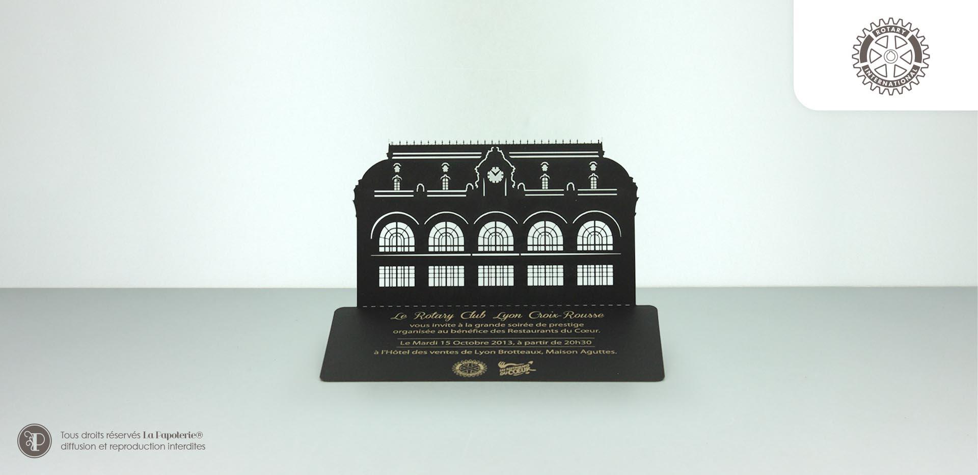 La Papoterie rotary-invitation Invitation Rotary architecture