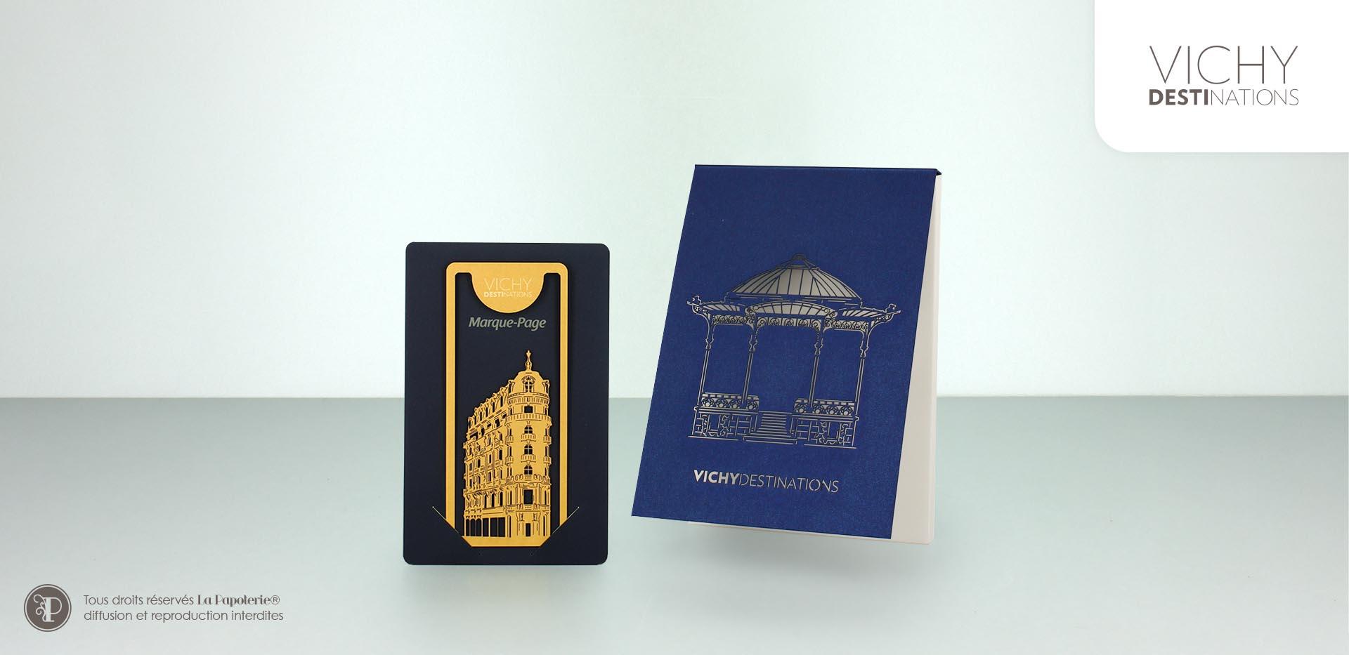 La Papoterie vichy-destinations-marque-page-a6 Assortiment Vichy