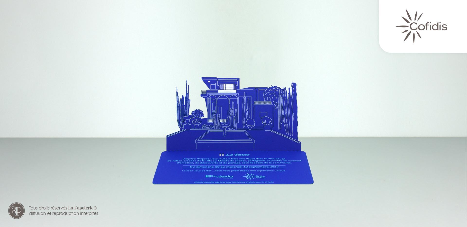 La Papoterie villa-majorelle-cofidis-invitation Invitation architecture Cofidis