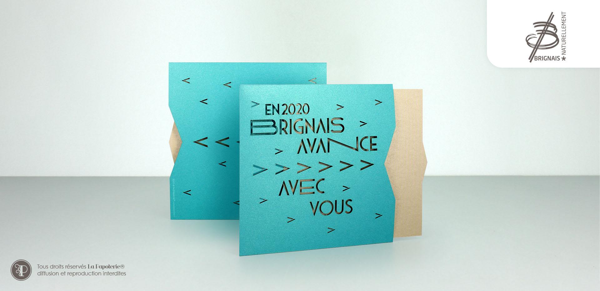 La Papoterie brignais-etui-carte-de-voeux-1 City of Brignais greetings card case