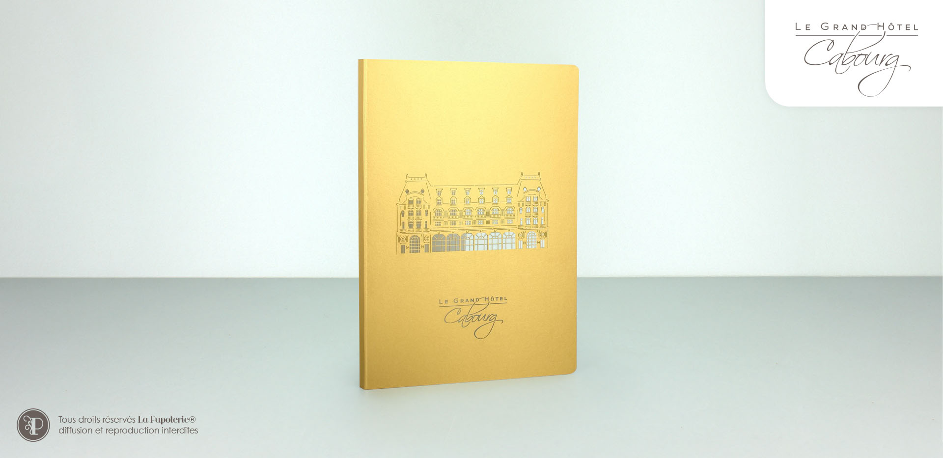 La Papoterie cabourg-carnet-80p-a5 A5 80 pages notebook Cabourg Hotel