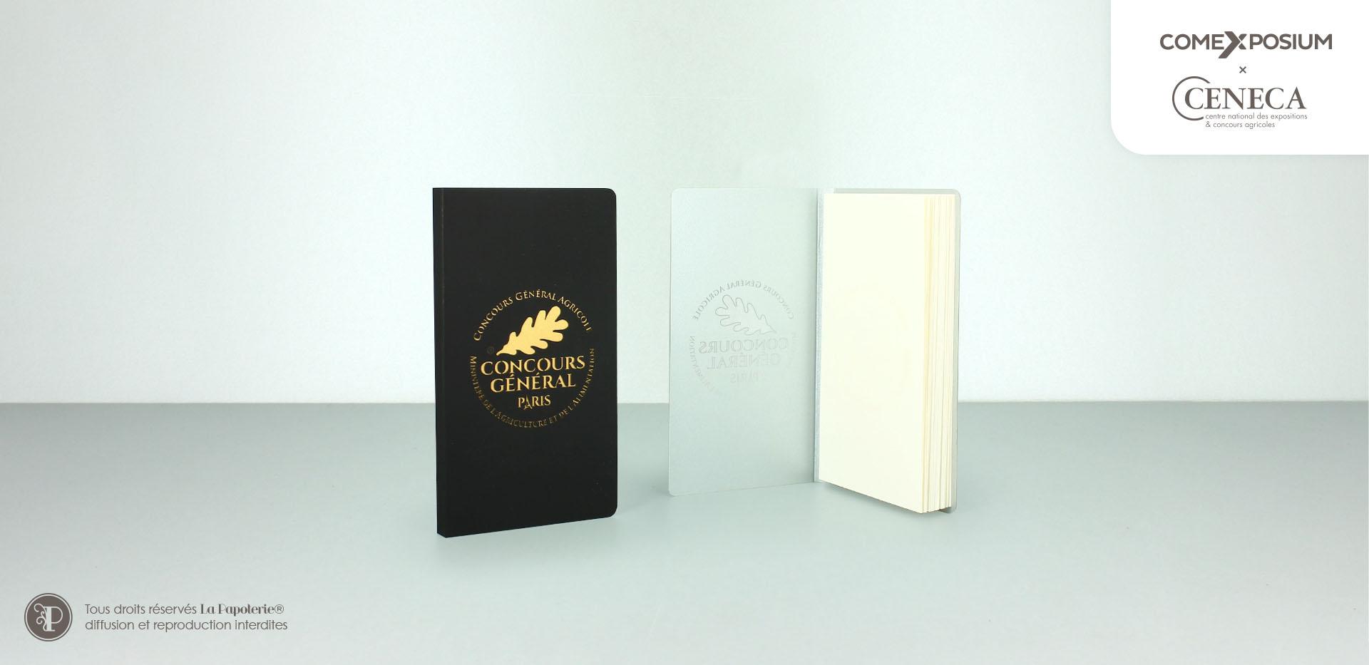 La Papoterie comexposium-duo-carnet-poche-2 Pocket notebook Comexposium Conconcours general agricole