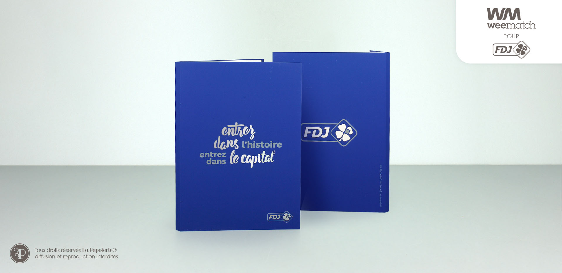 La Papoterie weematch-fdj-carnet-a5 A5 Notebook laser cut engraved Weematch FDJ